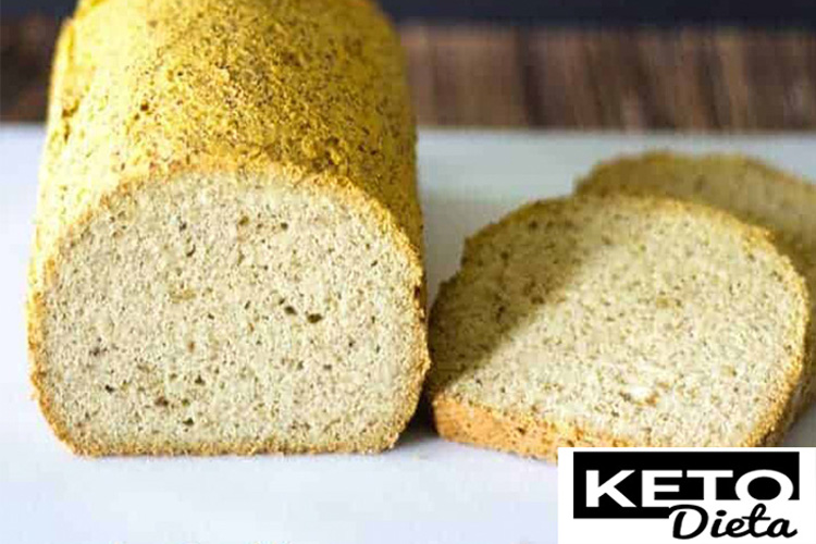Кето хлеб из кокосовой муки и шелухи подорожника